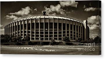 Phillies Canvas Print - Veterans Stadium 1 by Jack Paolini