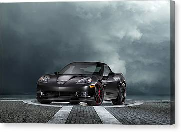 Vette Dream Canvas Print by Peter Chilelli