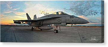 Vfa-14 215 Ready... Canvas Print by Dan Quam