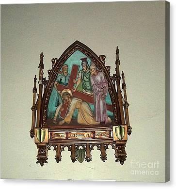 Via Crucis 7 Canvas Print by Vladimir Berrio Lemm