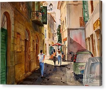 Via Della Lungarina Canvas Print