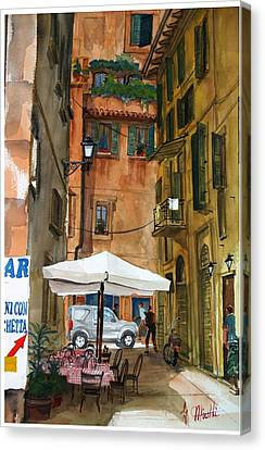 Via Piacenza Canvas Print