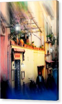 Via Tasso Sorrento Canvas Print by Diana Angstadt