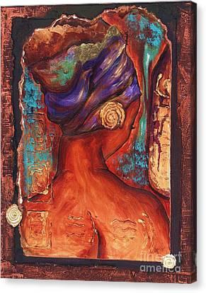 Vibrant Reflection Canvas Print by Alga Washington