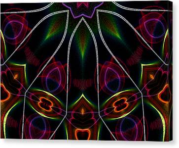 Vibrational Tendencies Canvas Print