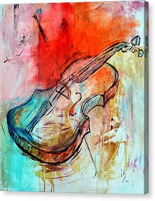 Vibrato Canvas Print by Ivan Guaderrama