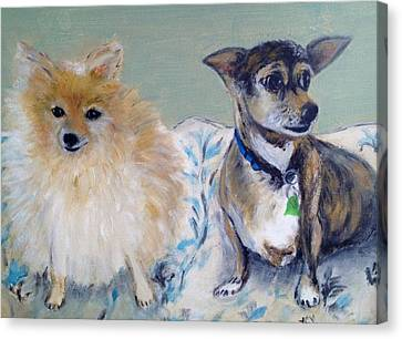Vick's Dogs Canvas Print