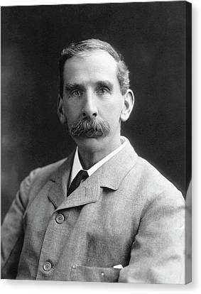 Victor Horsley Canvas Print by National Library Of Medicine