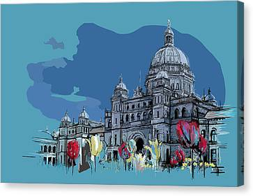 Victoria Art 007 Canvas Print by Catf