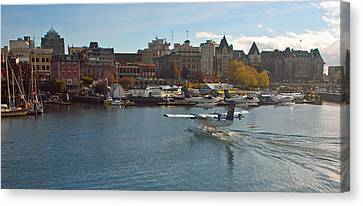 Victoria Landing Canvas Print by Gordon  Grimwade