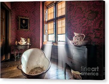 Victorian Bathroom Canvas Print by Adrian Evans