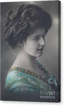 Victorian Beauty Canvas Print by Jan Bickerton