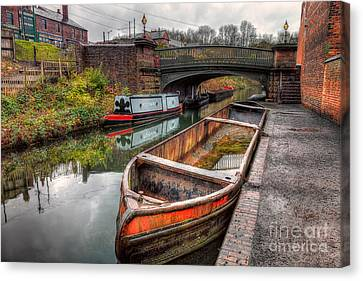 Victorian Canal Canvas Print by Adrian Evans