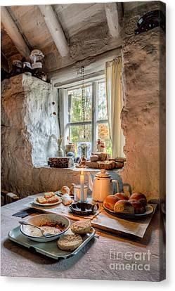 Victorian Cottage Breakfast V.2 Canvas Print by Adrian Evans