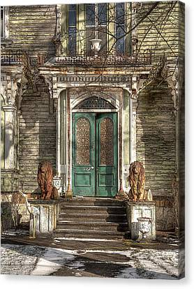 Victorian Entry Canvas Print