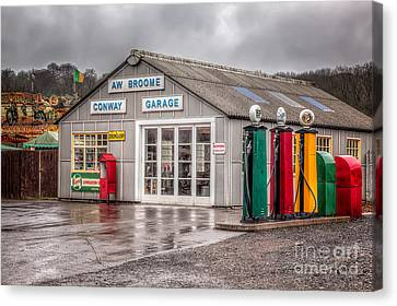Victorian Garage Canvas Print by Adrian Evans