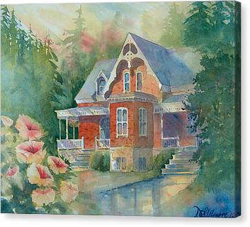 Victorian House Canvas Print by David Gilmore