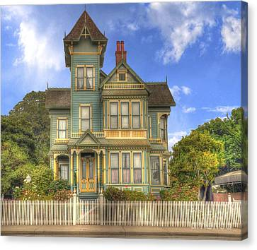 Victorian House Canvas Print