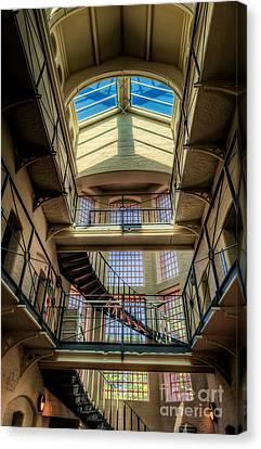 Skylight Canvas Print - Victorian Jail by Adrian Evans