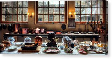 Victorian Kitchen Canvas Print by Adrian Evans