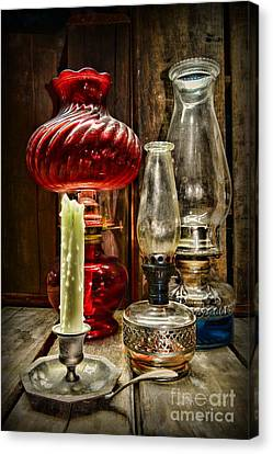 Victorian Lamps Canvas Print by Paul Ward