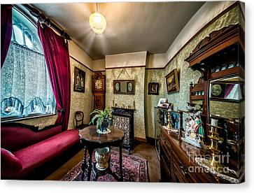 Victorian Lounge Canvas Print by Adrian Evans