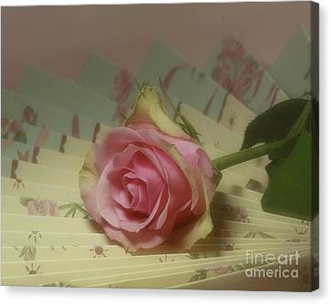 Victorian Rose Canvas Print by Inspired Nature Photography Fine Art Photography
