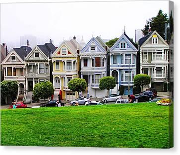 San Francisco Architecture Canvas Print
