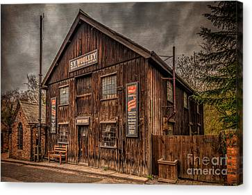 Victorian Sawmill Canvas Print by Adrian Evans