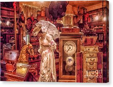 Victorian Shop Canvas Print by Mo T