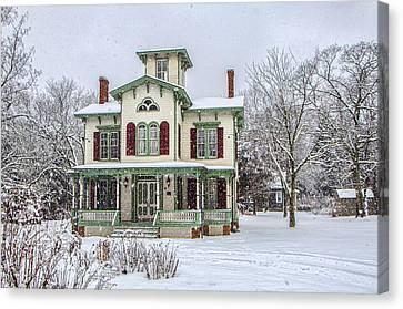 Victorian Winter Canvas Print