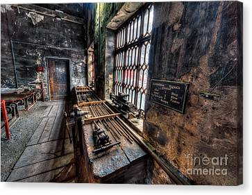 Victorian Workshops Canvas Print by Adrian Evans