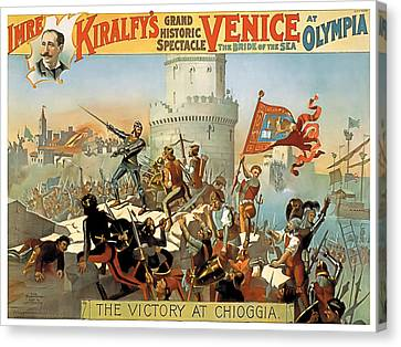 Victory At Chioggia Canvas Print by Terry Reynoldson