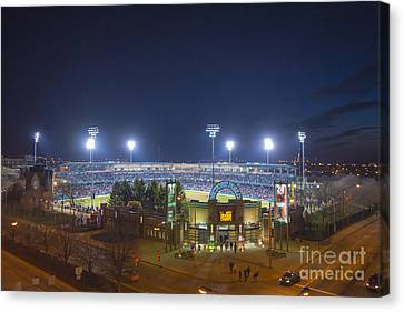 Victory Field 3 Canvas Print by David Haskett