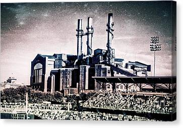 Victory Field I Canvas Print by Leanne Yeoman
