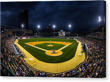 Victory Field Canvas Print by Ron Pate