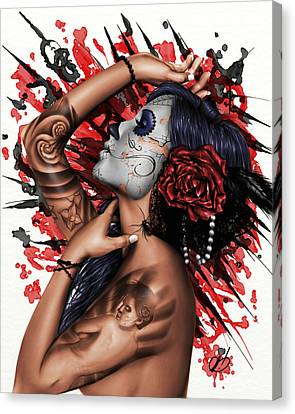 Vidas Angel Canvas Print