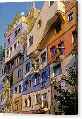 Vienna, Austria. Facade Canvas Print