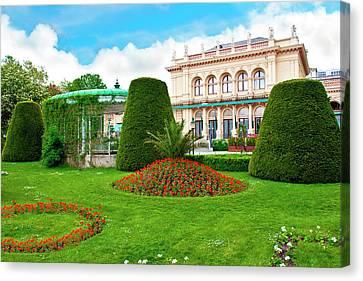 Vienna, Austria, Kursalon, Municipal Canvas Print by Miva Stock
