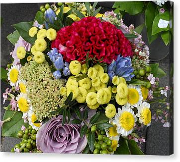 Canvas Print featuring the photograph Vienna Bouquet by Kay Gilley