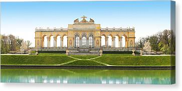 Vienna - Gloriette - Schoenbrunn Canvas Print by Marc Huebner