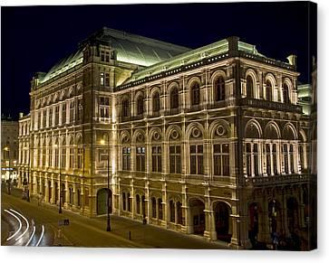 Vienna Opera House Canvas Print