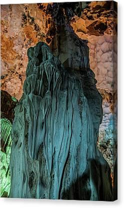 Vietnam Hang Dau Go Stalagmites Cave Canvas Print by Photostock-israel