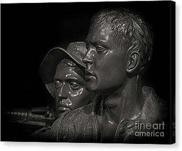 Vietnam Memorial No. 1 Canvas Print by Jerry Fornarotto
