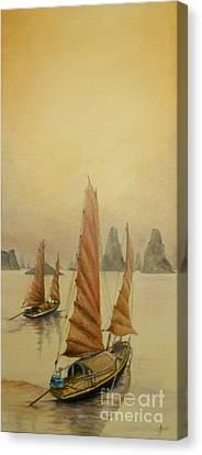 Vietnam Canvas Print by Sorin Apostolescu