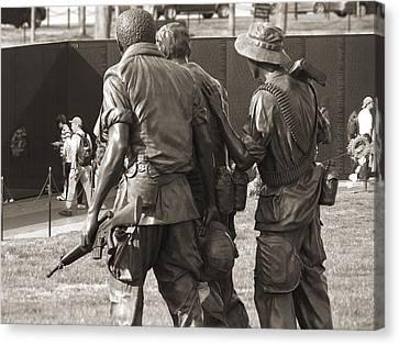 Vietnam Veterans Memorial 2 - Washington Dc Canvas Print