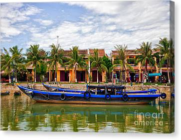 Canvas Print - Vietnamese Unesco City Of Hoi An Vietnam by Fototrav Print