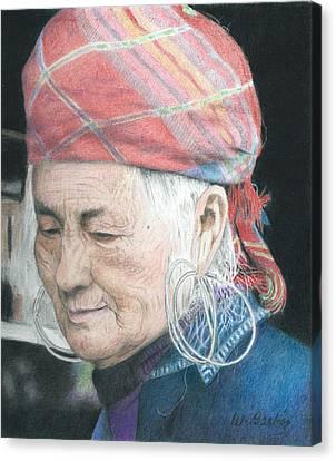 Vietnamese Canvas Print by Wilfrid Barbier