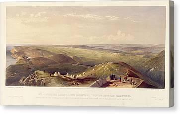 View Above Balaklava Canvas Print