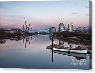 View Down The Clyde. Canvas Print by John Farnan